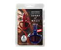 Schwarz Jaw Harp-Fun Harp Duo 8 & 12 - Red & Blue