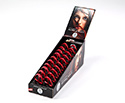 Schwarz Jaw Harps Display Box of 20 Size 8 - Red