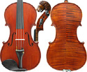 Gliga Vasile Violin with Lion Head Scroll