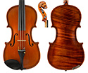 Gliga Vasile Violin with Lion Head Double Purfling 1pcBack