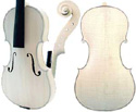 Gliga II Violin-In-The-White Strad
