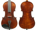 Raggetti RV7NA Violin Only-Distressed Dark Brown 4/4