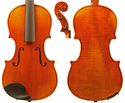 Makers Violin Only-F Model  4/4 1-Piece Back