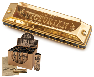 Harmonicas-The Victorian by Clarke Box of 20 Tubes