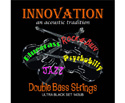 Innovation Double Bass Set Ultra Black