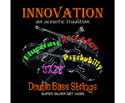 Innovation D/Bass-Rockabilly Super Silvers