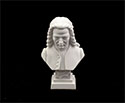 Bust 11cm-Crushed Marble Bach