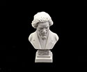 Bust 11cm-Crushed Marble Beethoven