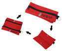 Pencil Case-Red w/Musical Notes