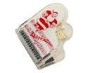 Pickboy Clip-Piano Shape Santa Design