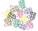 Paper Clips (Pack Of 60)-Quaver