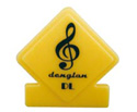 Clip-Clef Yellow