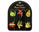 Fridge Magnets-Instruments w/Fruit (6pc)