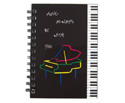 Note Pad (Portrait Mini 8x12)-Piano