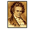 Musician Print 42x30cm-Beethoven