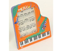 Picture Frame-Grand Piano Orange