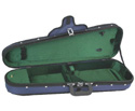 FPS Shaped Violin Case Woodshell Suspension -1/2