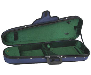 FPS Shaped Violin Case Woodshell Suspension-1/16