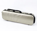 Oblong Viola Case-HQ Polycarbonate-BrushChampagne