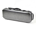 Oblong Viola Case-HQ Polycarbonate-Matt Black