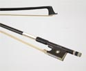 Violin Bow-FPS Student Carbon - Black 3/4