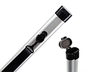 Bow Tube-TG Aluminium-Violin or Cello. Silver