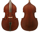 J Francis Double Bass Outfit-Solid Top w/violin corners 3/4