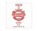 Jargar Violin String E Forte-Red