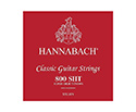 Hannabach Classical Set-Silv.800 Red S/HighT