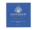 Hannabach Classical Set-PureGold 825Blue