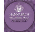 Hannabach Classical Set-Silver 200 900 M/Low