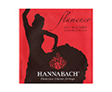 Hannabach Classical Set-Flamenco 827 Red