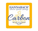 Hannabach Classical Trebles-Carbon (GBE) MedHi