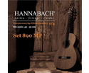 Hannabach Classical Kinder Set-1/4 Size 890 Black