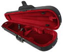 Bobelock Shaped Violin Case-Wine Velour Interior