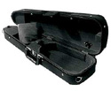 Arrow Violin Case-Bobelock- Black Ext.