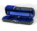 Oblong Violin Case-Bobelock Student Blk/Blue