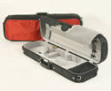 Oblong Violin Case-Bobelock Sports-Red