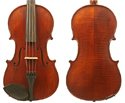 Gliga II Viola Outfit Dark Antique with Tonica - 16in