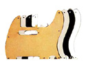 Electric Guitar Pickguard-Pickboy T-type 3Ply Pearl