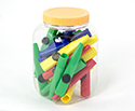 Kazoos-Plastic (Tub Of 25) Schwarz