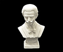 Bust 11cm-Crushed Marble J.Strauss