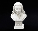 Bust 11cm-Crushed Marble Liszt