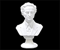 Bust 15cm-Crushed Marble Chopin