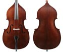 J Francis Double Bass Outfit Ply w/violin corners 3/4